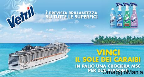 Vinci crociera ai Caraibi con Vetril - http://www.omaggiomania.com/concorsi-a-premi/vinci-crociera-ai-caraibi-con-vetril/