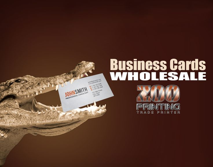 "If you need business cards in bulk, small order, shaped, full color, one color, light or thick stock or even cut corners Zoo Printing can service your needs. Call Today! 1.800.507.1907  ""Seamless Online Print Ordering & Delivery from Wholesaler to Customer""  #GraphicDesign  #WholesalePrinting Signup:  http://zooprint.us/6ISkL"