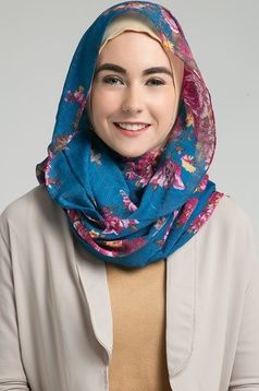 D-Amour Hijab Purple Buttercup
