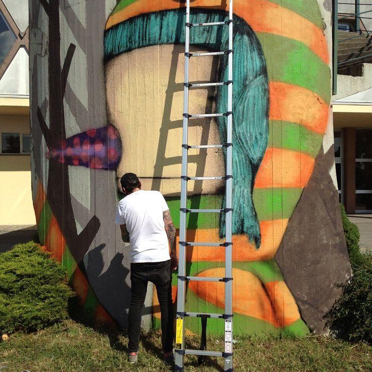 @tonygalloart: #tonygalloart #Padova #Italy#tonygallo #streetart #arte #artecontemporanea #graffiti #urbanart #contemporaryart