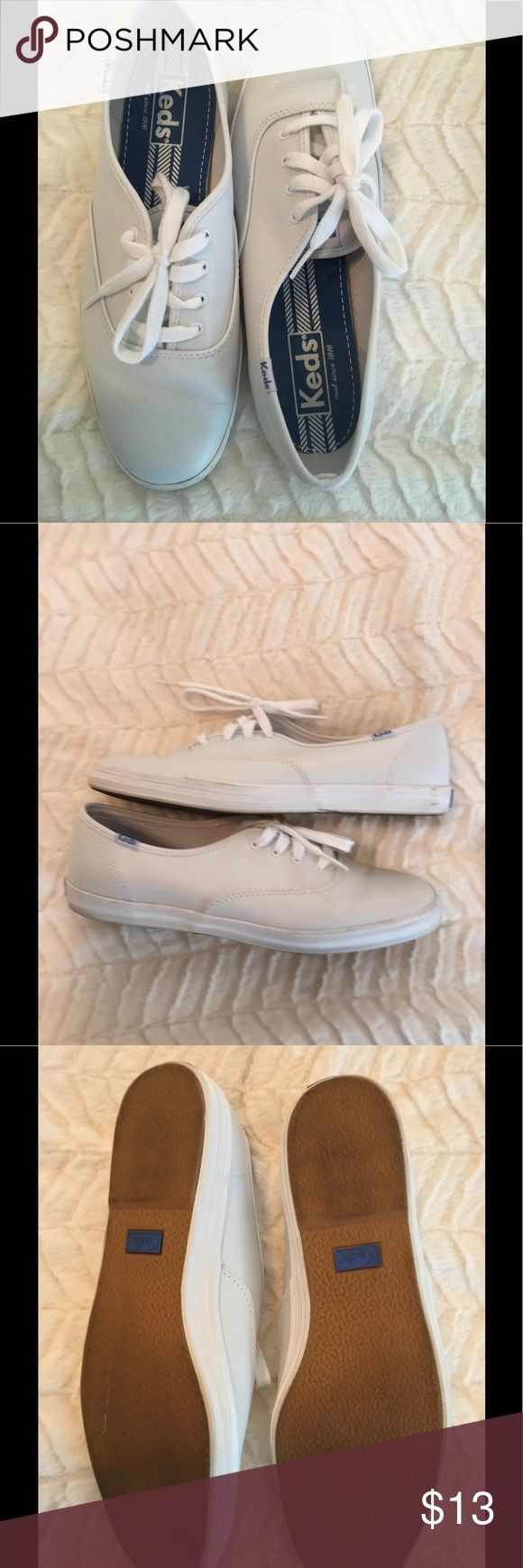 White leather keds In good condition Keds Shoes Sneakers