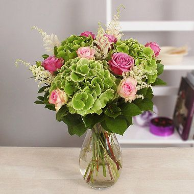 Cottage Garden Hydrangea Bouquet With Free Express Delivery - From Lakeland http://www.lakeland.co.uk/search/flowers/c01.r38.1?arc=pinit
