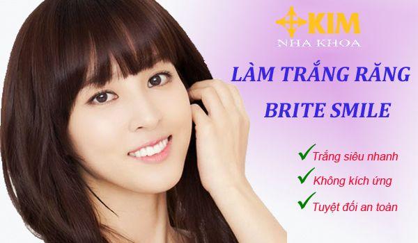 Làm trắng răng Brite Smile không kích ứng, không ê buốt vô hại với răng