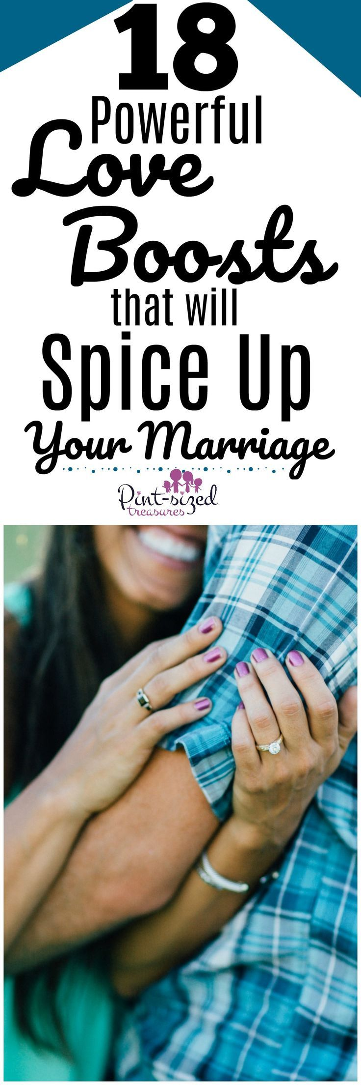 Ready for a spicy marriage? These 18 love boosts are just what your marriage needs, craves and LOVES! Go ahead and add some LOVE and spice to your marriage relationship today! #marriagehelp #marriagetips #marriage #romance #datenight #spiceupmarriage