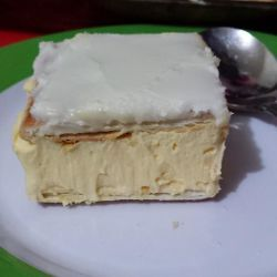 Vanilla Slice Made Easy with Lattice Biscuits