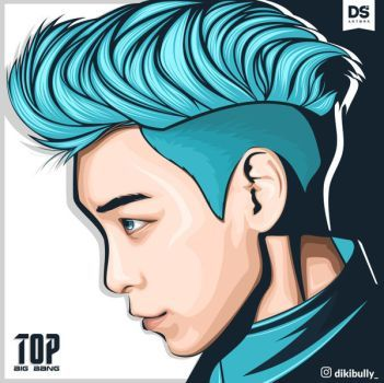 TOP bigbang FanArt by Dikibully