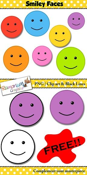So cute! Free Smiley face clip art :)