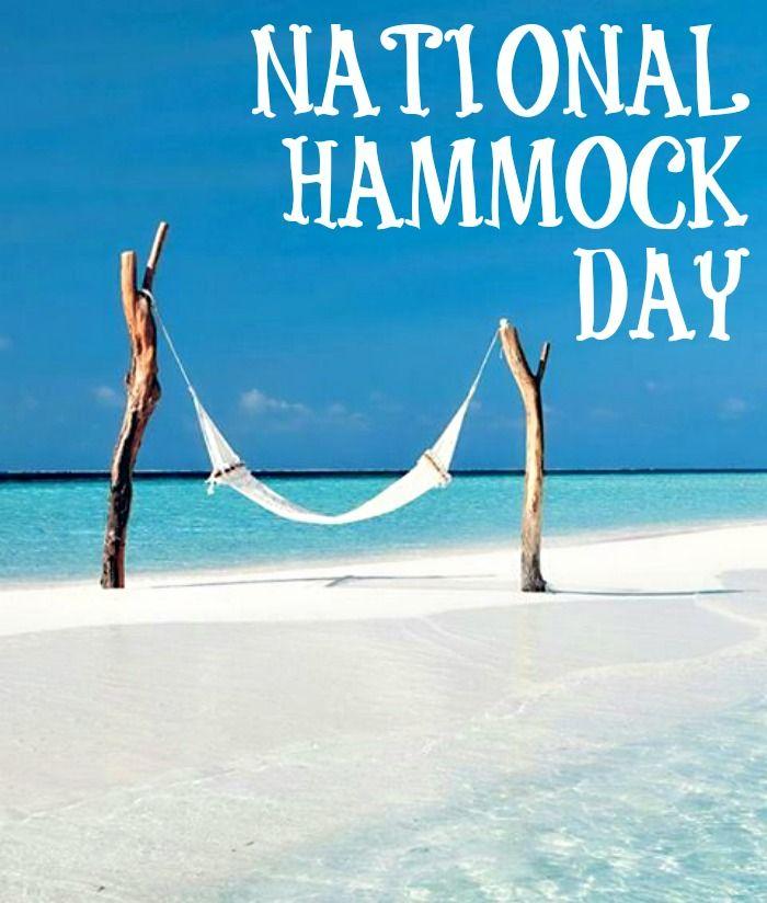 It's National Hammock Day! #hammockday #nationalhammockday ...