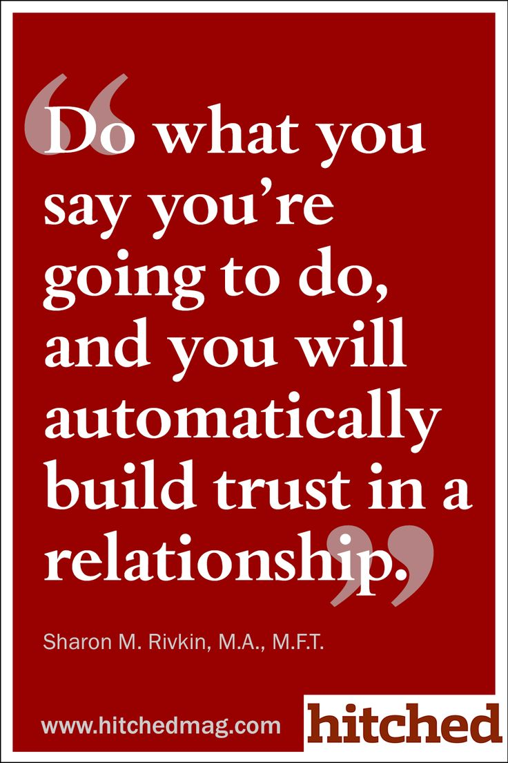 Ways Gain Back Trust Relationship