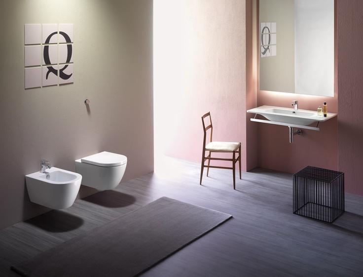GSI ceramic   PURA Washbasin 100x50 - Wc 55x36  #GSIceramica #BathroomDesign #Washbasins #Sanitaryware