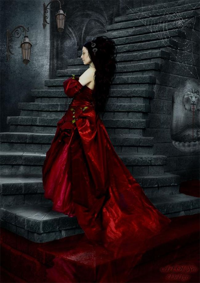 vampire countess who bathed in blood - 600×848