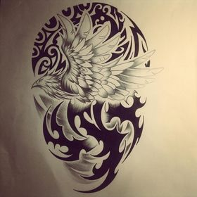 http://tattoofav.com Phoenix Maori  Tribal Tattoo By Dirtfinger On Deviantart