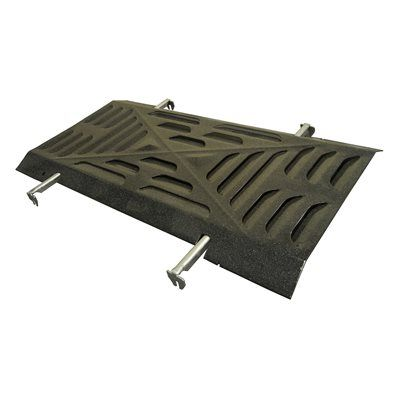 Heavy Duty BBQ Parts 91023 Porcelain Steel Heat Plate for Arkla/Charmglow/Grill Master/Sunbeam Brand Gas Grills