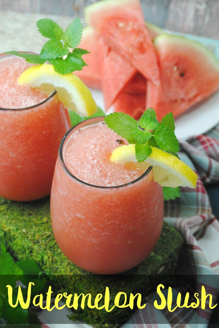 Easy to Make Watermelon Wine Slush | Dallas Socials