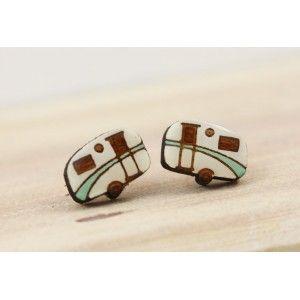 Caravan Earrings (Green)