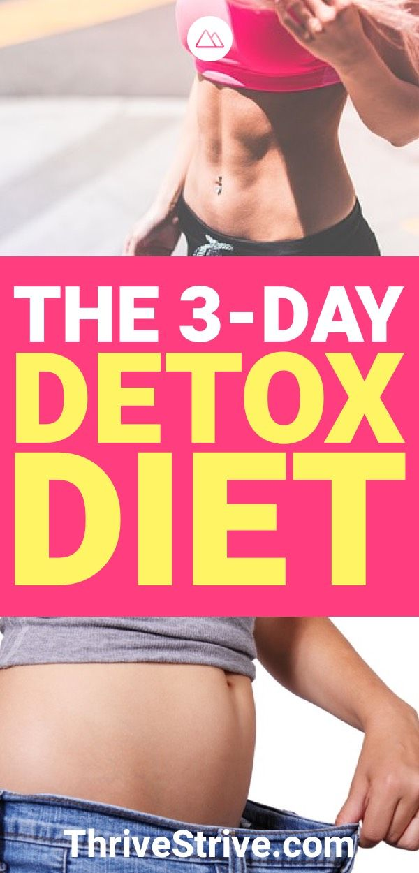 How to Do a Carb Detox: The 3-Day Detox Diet Plan | Fitness | Carb