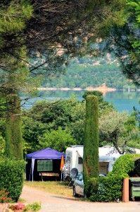 Camping Les Pins - Les Salles sur Verdon