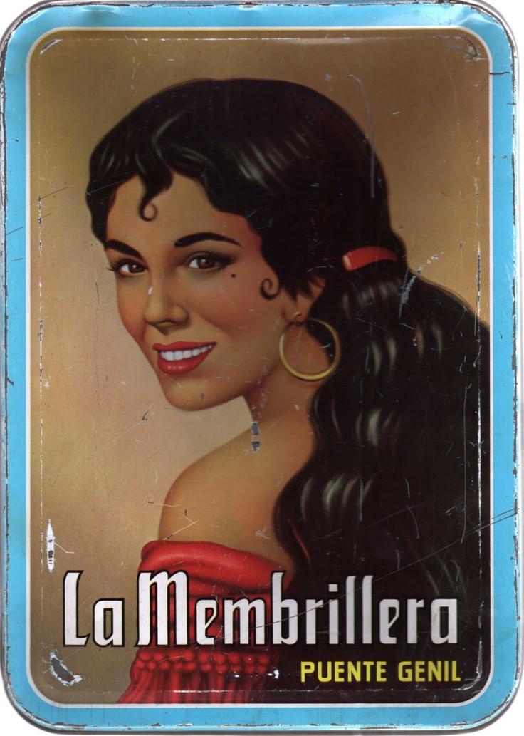 La Membrillera - vintage Spanish tin box