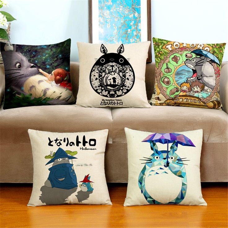 totoro pillow