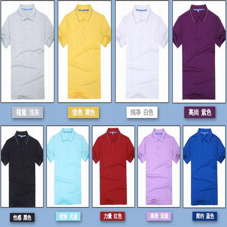 Work wear t-shirt summer short-sleeve casual t-shirt blank shirt T-shirt logo #Affiliate