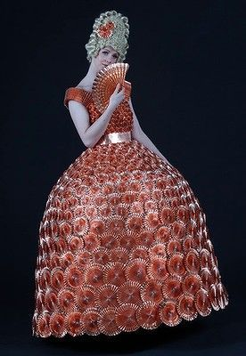 Radiator Parts Dress by Emma Whiteside
