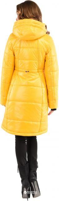 Пальто-пуховик Milhan 1772 40 Желтое (2000000029726)