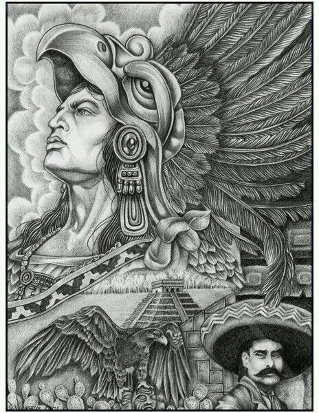 aztec murals coloring pages - photo#33