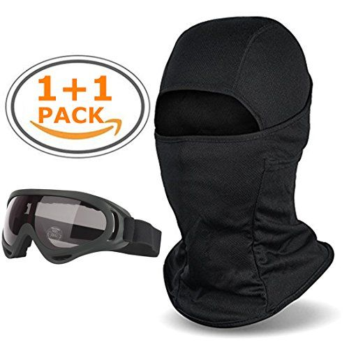 Balaclava - Windproof Ski Face Mask-Ski GogglesCold Weather Face Mask Motorcycle Neck Warmer Tactical HoodUltimate Thermal Retention in Outdoors Super Comfortable Hypo-allergenic Moisture Wicking