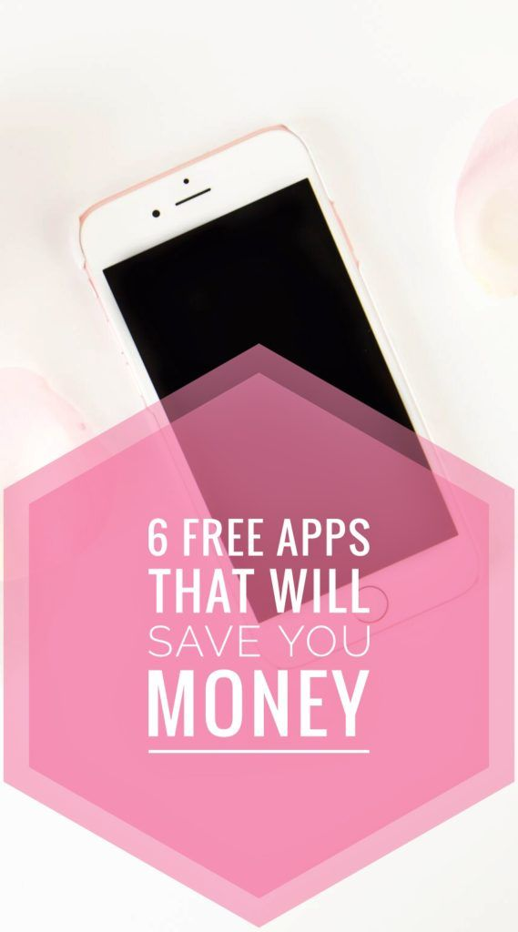 6 Free Apps That Will Save You Money! If you are looking to save money on everyday things and want to save money but still have fun then you can read it now or pin it for later!