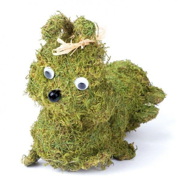 Awesome Niedliche Moosraupe Von Pflanzen Kölle. Die Vielseitig Zu Dekorierende  Raupenfigur Aus Echtem Moos überzeugt Photo