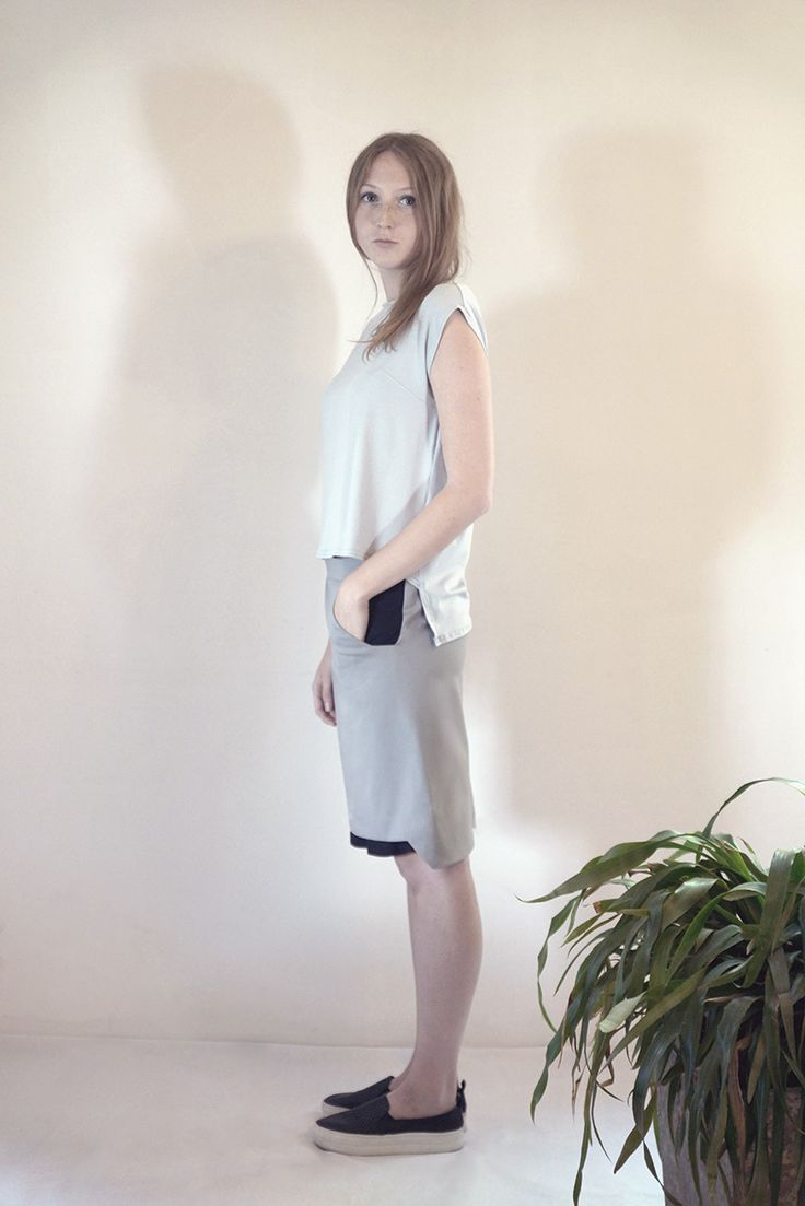 SILEX skirt #PANTHEIST #FLUMENcollection #womenswear