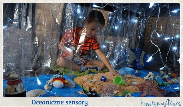 kreatywnyMaks: Ocean sensory play
