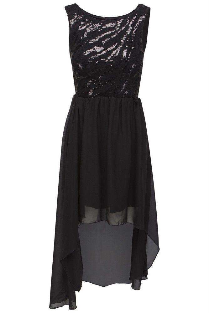 fdc354efb568 Goddess sort high low kjole
