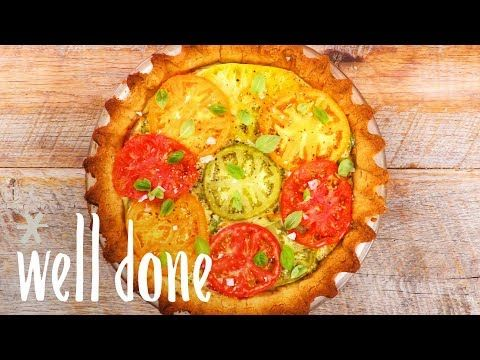 The 1825 best paleo diet recipe videos images on pinterest recipe paleo southern style tomato pie with a gluten free buttery crust recipe forumfinder Choice Image
