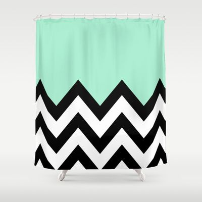 22 best Pink Chevron Shower Curtain images on Pinterest