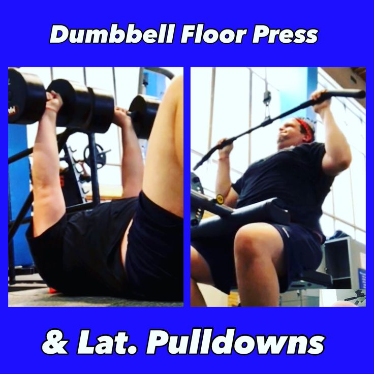 Exercise Of The Week Dumbbell Floor Press: 1261 Best Fitness Images On Pinterest