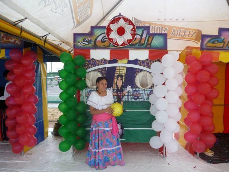Feria mexicana juegos de kermes para eventos en monterrey