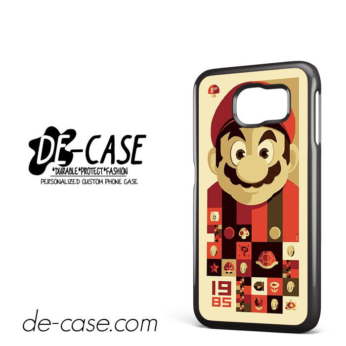 Mario Bross Old Game DEAL-6889 Samsung Phonecase Cover For Samsung Galaxy S6 / S6 Edge / S6 Edge Plus