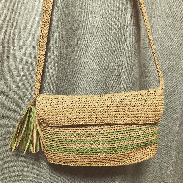 ペーパーヤーンで夏用バッグを作ろう♪アイデア作品集♡ – Handful[ハンドフル]