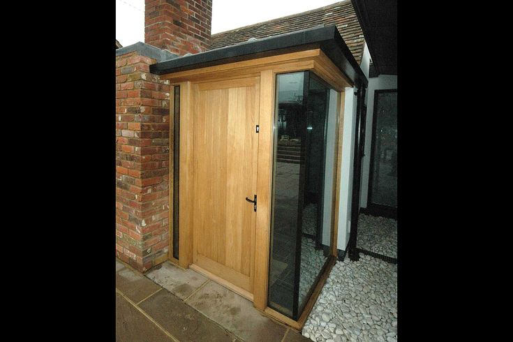 Oak And Glass Porch Fairley In 2019 Glass Porch Porch