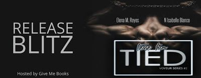 #NEW #99c these ladies have completely blown my mind and twisted everything with this raw gritty and depraved novel I just cant get enough.  Bloggers From Down Under    Title: Tied  Series: Voyeur #2  Authors: Elena M. Reyes & N. Isabelle Blanco  Genre: Erotic Thriller/Dark Romance  Release Date: July 25 2017  Blurb  That bloody bitch thinks shes the biggest villain here . . .  And Im going to let her keep thinking that.  She thinks she knows how far Ill go to save Ivy.  In reality she has…