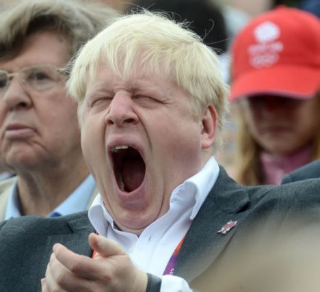 Boris Johnson (THE MOST BORING PINTEREST BOARD EVER)