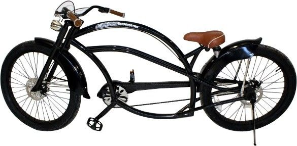 26 Zoll Chopper Lowrider Fahrrad Custombike Cruiser XXL- 2,15m weiß schwarz | eBay