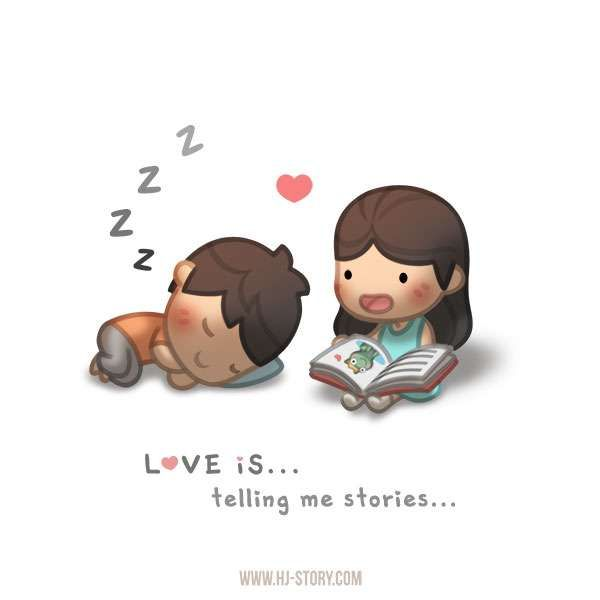 HJ-Story :: Love is... Storytelling   Tapastic - image 1