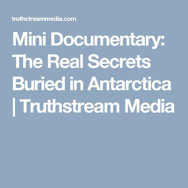 Mini Documentary: The Real Secrets Buried in Antarctica | Truthstream Media