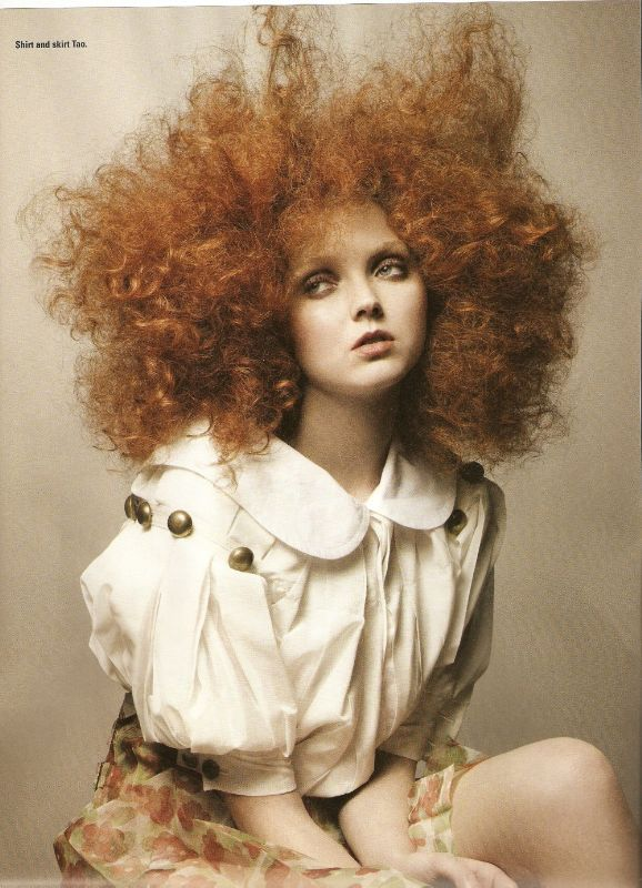 lily cole | BEAUTY OF THE DAY: LILY COLE