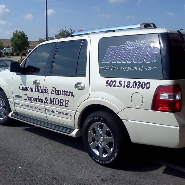 Custom vehicle decals custom vehicle wrapped can effectively generate thousands of impressions daily captive audience to the vehicle advertising