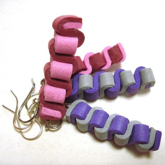 Scooby orecchini in Moosgummi multicolor  di BibidiCreazioni, €3,50