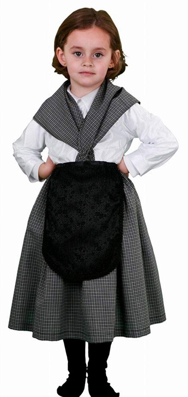 Disfraz de castañera infantil Talla 1012 años Ver