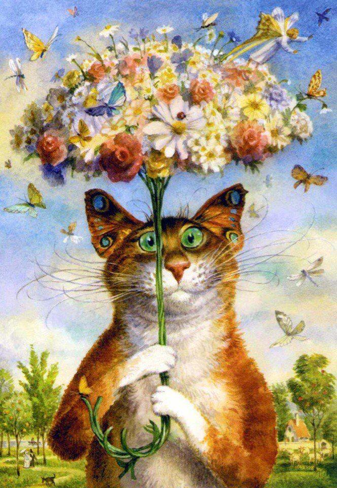 Сайт открытки художников капуста